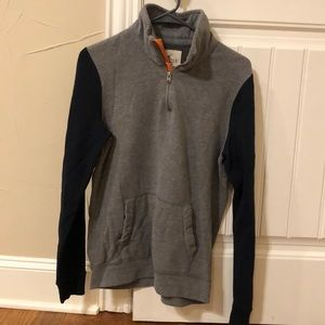 Hollister Quarter Zip Sweatshirt